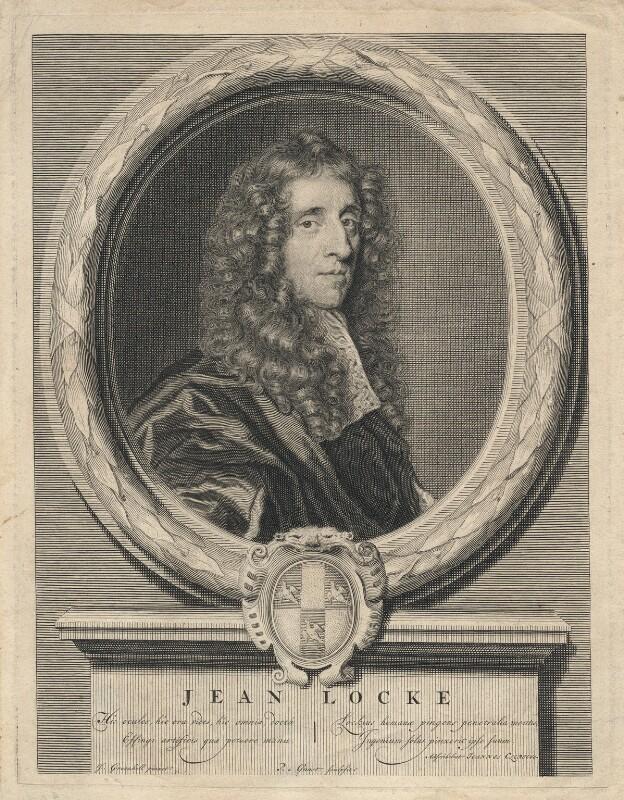 John Locke, by Pieter Stevens van Gunst, after  John Greenhill, (circa 1672-1676) - NPG D5096 - © National Portrait Gallery, London