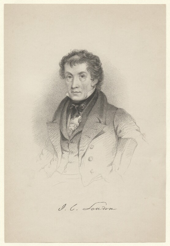 John Claudius Loudon, after Unknown artist, published 1845 - NPG D5109 - © National Portrait Gallery, London