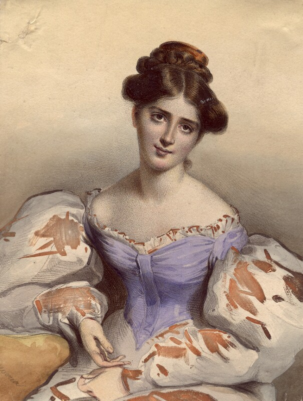Fanny Kemble, after Sir Thomas Lawrence, 1830s - NPG D5156 - © National Portrait Gallery, London