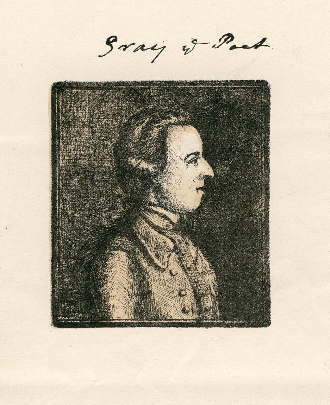 Thomas Gray, after William Mason, (1760?) - NPG D5161 - © National Portrait Gallery, London