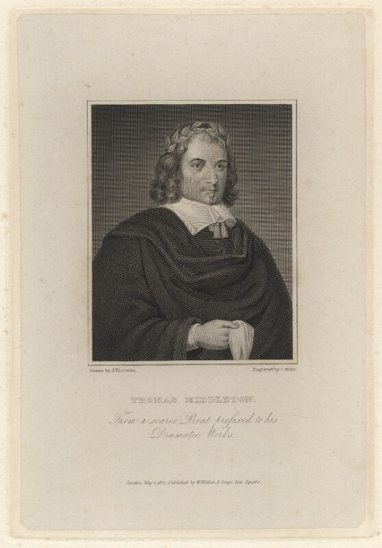 Thomas Middleton, by Charles Rolls, after  John Thurston, published 1821 - NPG D5254 - © National Portrait Gallery, London