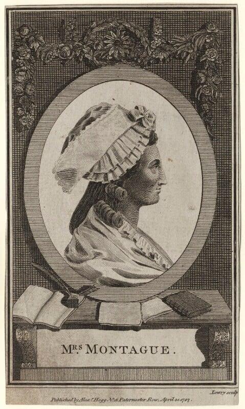 Elizabeth Montagu (née Robinson), by Wilson Lowry, published 1787 - NPG D5281 - © National Portrait Gallery, London