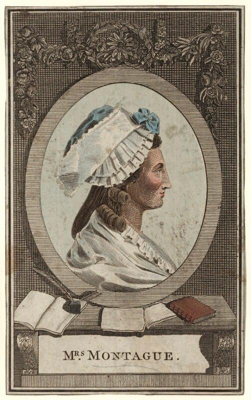 Elizabeth Montagu (née Robinson), by Wilson Lowry, published 1787 - NPG D5283 - © National Portrait Gallery, London