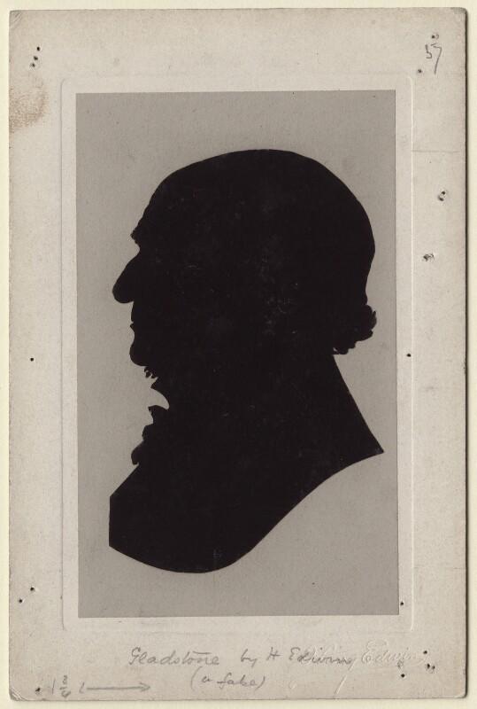 William Ewart Gladstone, by Harry Edwin, circa 1887-1895 - NPG D535 - © National Portrait Gallery, London