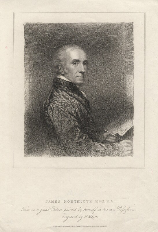 James Northcote, by Henry Meyer, published by  T. Cadell & W. Davies, after  James Northcote, published 1 November 1815 - NPG D5370 - © National Portrait Gallery, London