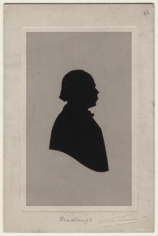 Charles Bradlaugh, by Harry Edwin, circa 1887-1891 - NPG D538 - © National Portrait Gallery, London