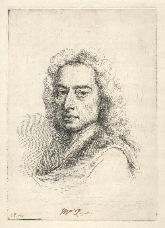 Alexander Pope, by Jonathan Richardson, circa 1736 - NPG D5542 - © National Portrait Gallery, London