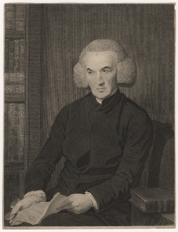 Richard Price, by and published by Thomas Holloway, after  Benjamin West, published 4 June 1793 - NPG D5557 - © National Portrait Gallery, London