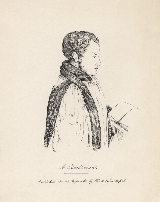 Edward Bouverie Pusey, published by James Wyatt & Son, mid 19th century - NPG D5567 - © National Portrait Gallery, London