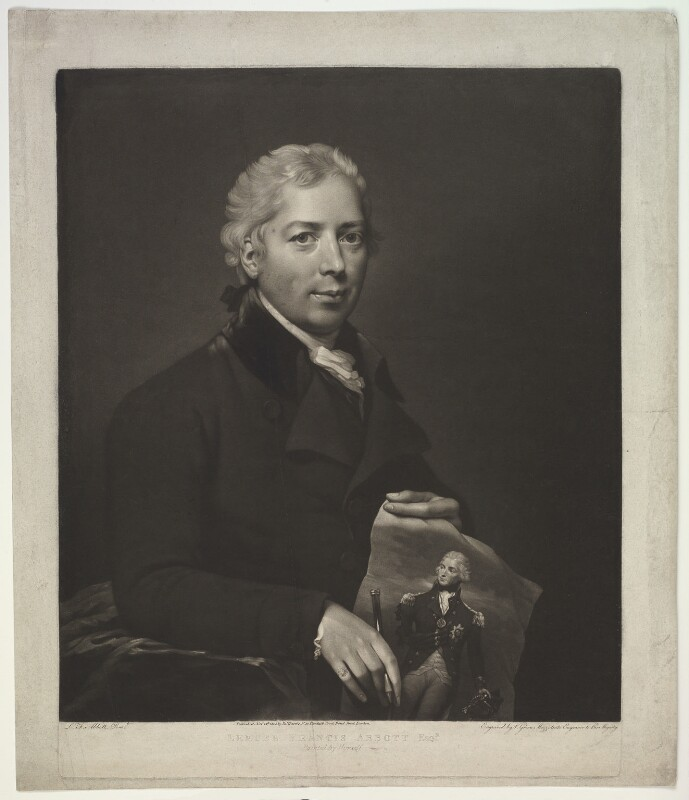 Lemuel Francis Abbott, by Valentine Green, after  Lemuel Francis Abbott, published 1805 - NPG D5602 - © National Portrait Gallery, London