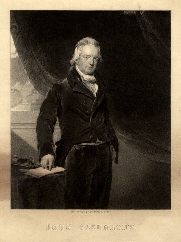 John Abernethy, after Sir Thomas Lawrence, (1819-1820) - NPG D5606 - © National Portrait Gallery, London