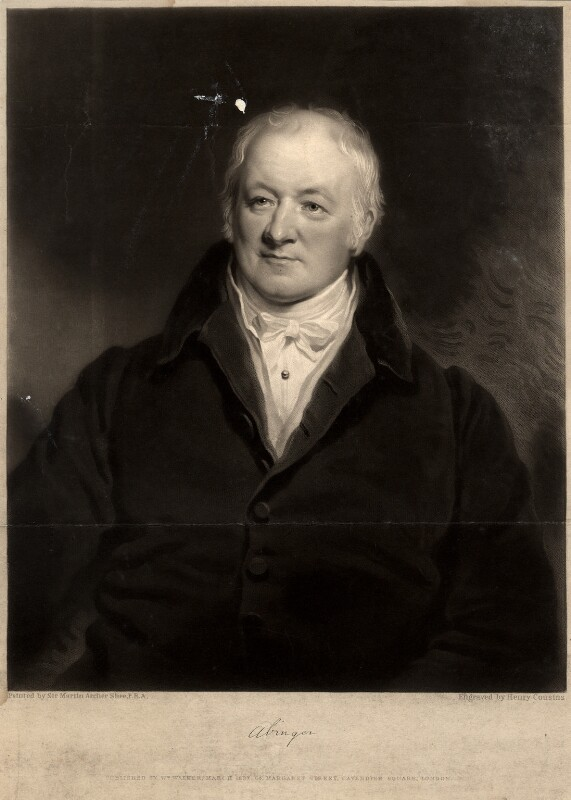 James Scarlett, 1st Baron Abinger, by Henry Cousins, after  Sir Martin Archer Shee, published March 1837 - NPG D5609 - © National Portrait Gallery, London