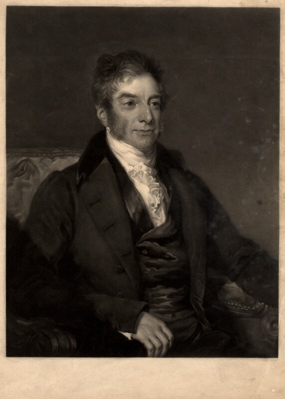 William Astell, by George Raphael Ward, after  Frederick Richard Say, mid 19th century - NPG D561 - © National Portrait Gallery, London