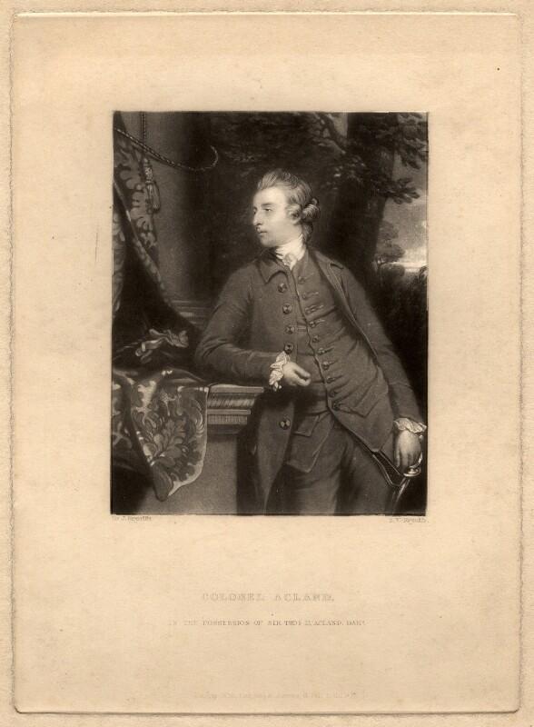 John Dyke Acland, by Samuel William Reynolds, after  Sir Joshua Reynolds, published 1838 - NPG D5613 - © National Portrait Gallery, London