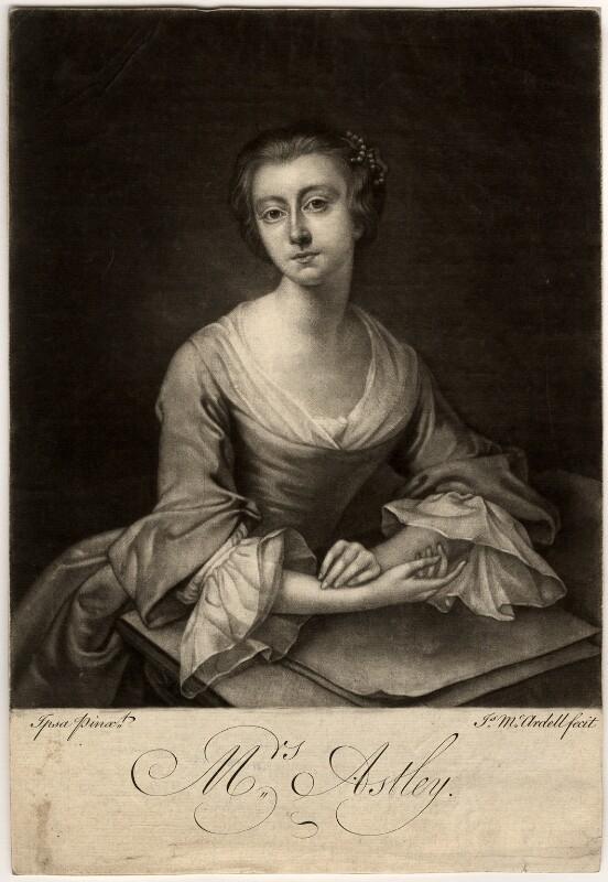 Rhoda (née Delaval), Lady Astley, by James Macardell, after  Rhoda (née Delaval), Lady Astley, 1751 or after - NPG D562 - © National Portrait Gallery, London