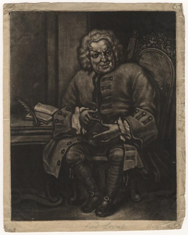 Simon Fraser, 11th Baron Lovat, after William Hogarth, (1746) - NPG D5647 - © National Portrait Gallery, London