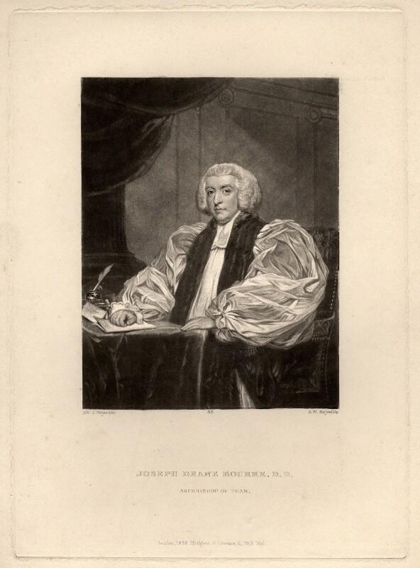 Joseph Deane Bourke, 3rd Earl of Mayo, by Samuel William Reynolds, after  Sir Joshua Reynolds, published 1838 - NPG D5670 - © National Portrait Gallery, London
