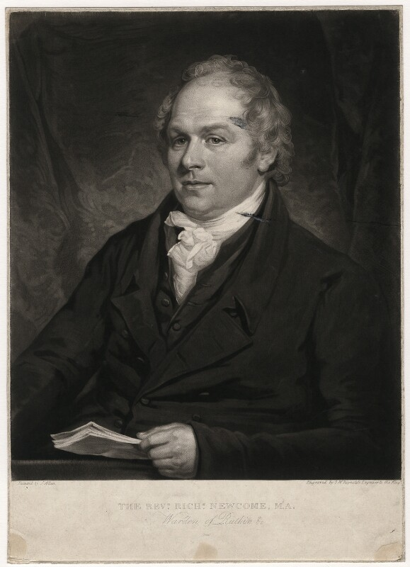 Richard Newcome, by Samuel William Reynolds, after  Joseph Allen, early 19th century - NPG D5720 - © National Portrait Gallery, London