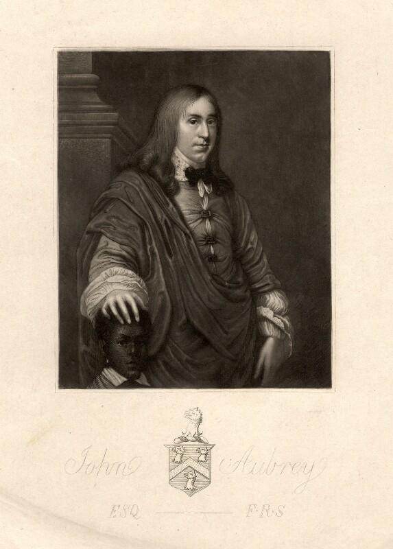 John Aubrey, after Unknown artist, 18th century - NPG D573 - © National Portrait Gallery, London