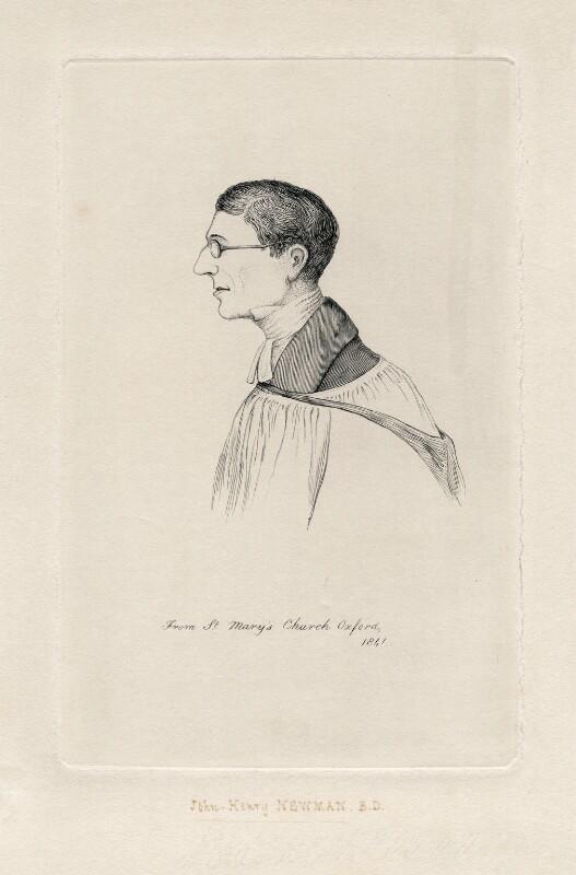 John Newman, after Unknown artist, published 1841 - NPG D5747 - © National Portrait Gallery, London