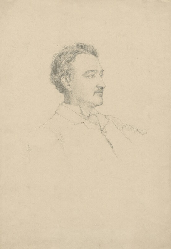 Cecil John Rhodes, after Violet Manners, Duchess of Rutland, 1898 - NPG D5806 - © National Portrait Gallery, London
