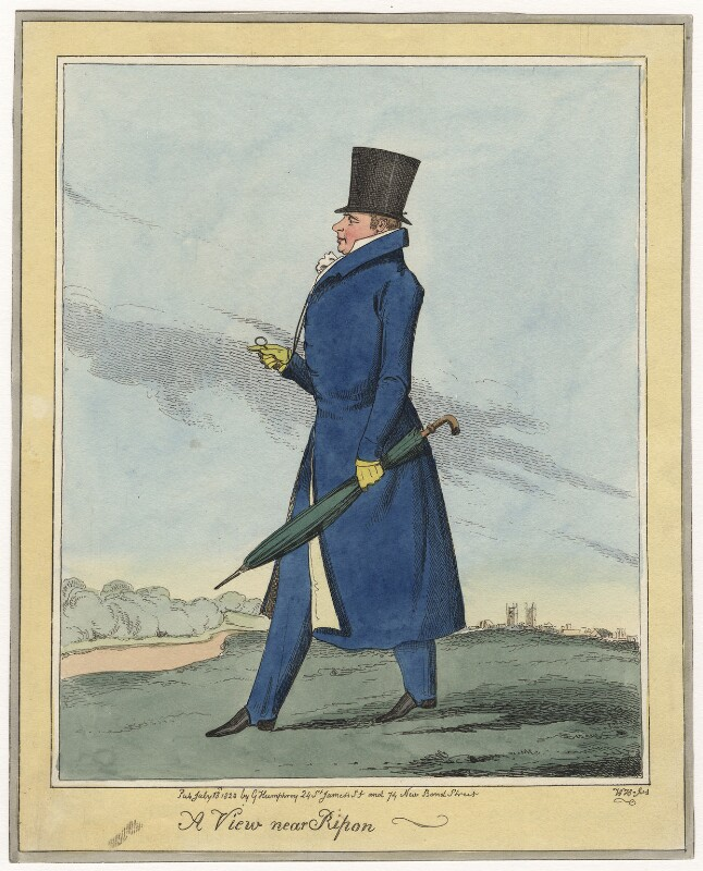 Frederick John Robinson, 1st Earl of Ripon, published by George Humphrey, published 13 July 1823 - NPG D5819 - © National Portrait Gallery, London