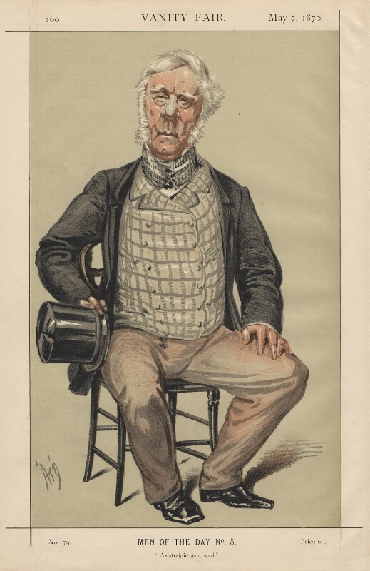 Henry John Rous ('As straight as a reed'), by Alfred Thompson (Atn), published 1870 - NPG D5845 - © National Portrait Gallery, London