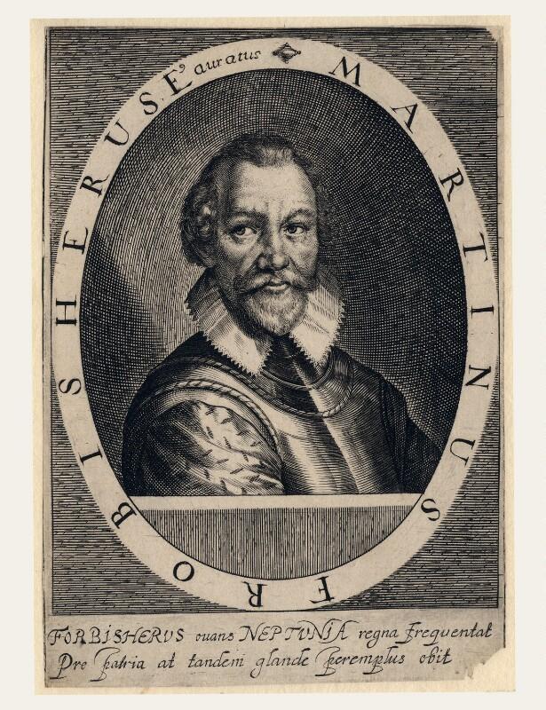 Sir Martin Frobisher, by Simon de Passe, published 1620 - NPG D5920 - © National Portrait Gallery, London