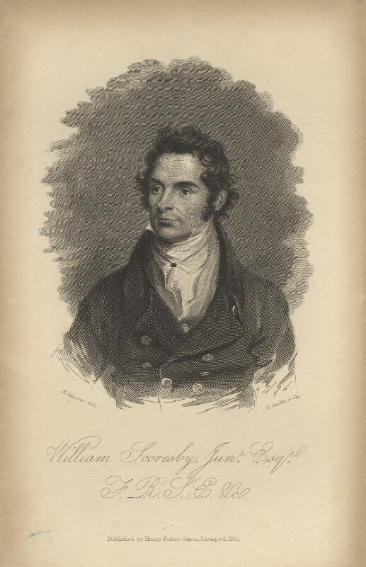 William Scoresby, by Edward A. Smith, after  Alexander Mosses, published 1821 - NPG D5923 - © National Portrait Gallery, London