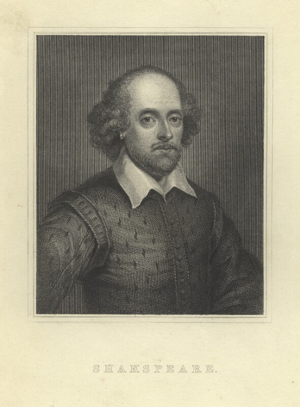 William Shakespeare, after Unknown artist, mid-late 18th century - NPG D5944 - © National Portrait Gallery, London