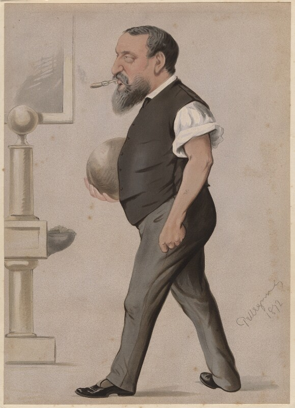 Count Gleichen (Prince Victor of Hohenlohe-Langenburg), by Carlo Pellegrini, 1872 - NPG D6734 - © National Portrait Gallery, London