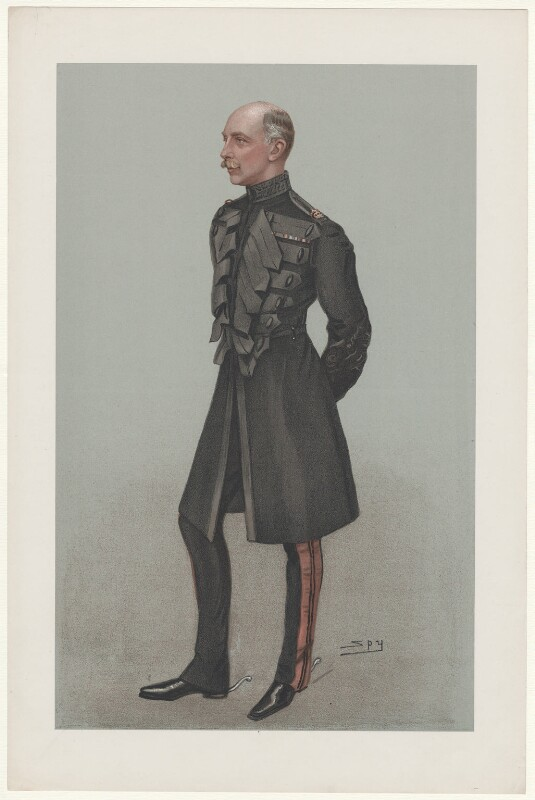 Prince Adolphus, Duke of Teck and Marquess of Cambridge, by Sir Leslie Ward, published 1902 - NPG D6745 - © National Portrait Gallery, London