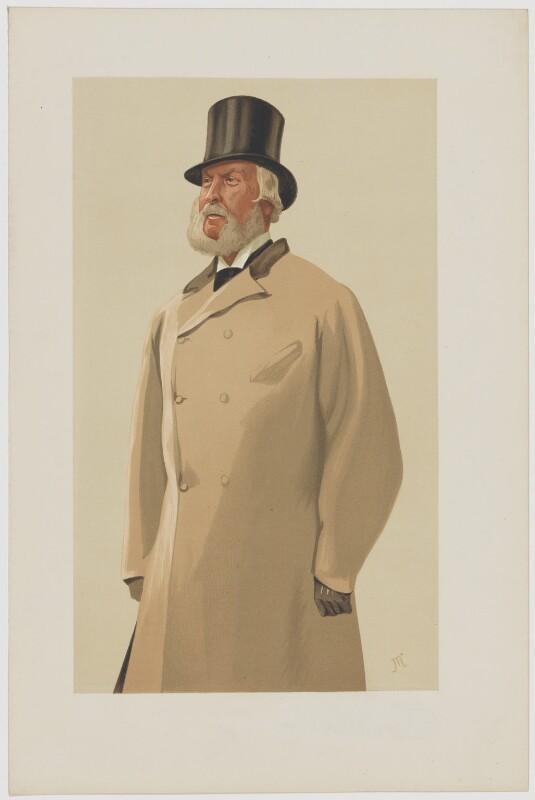 Hon. James William Bosville-Macdonald, by James Jacques Tissot, published 1 April 1876 - NPG D6758 - © National Portrait Gallery, London