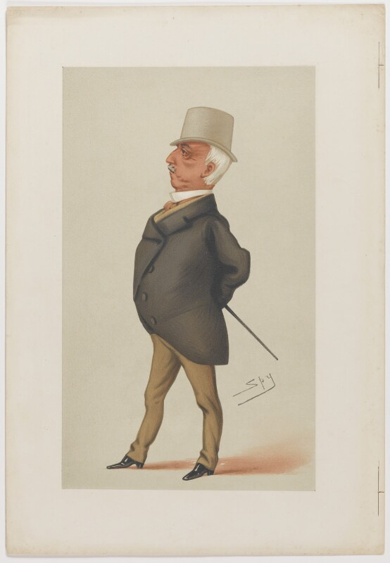 Lord George Augustus Frederick Paget, by Sir Leslie Ward, published 1877 - NPG D6760 - © National Portrait Gallery, London