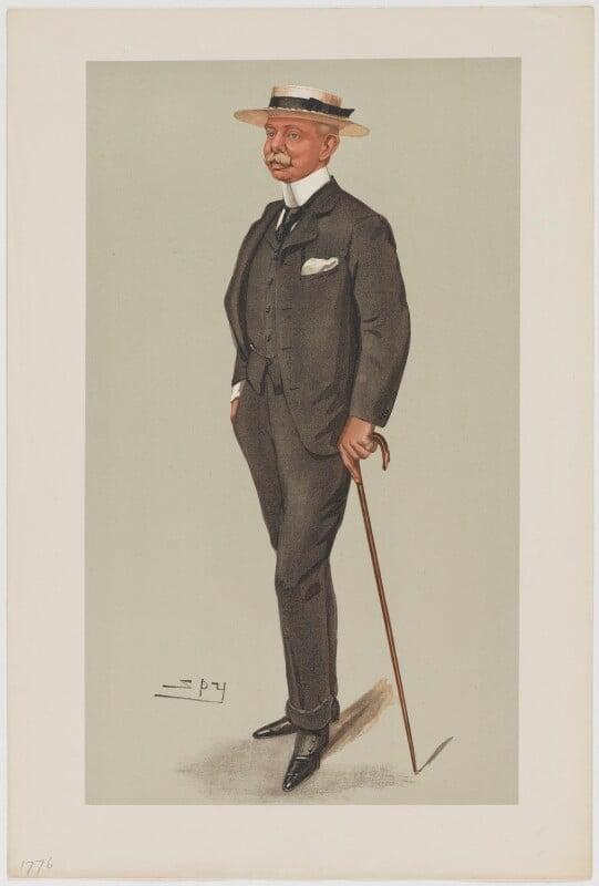 Herbert Plumer, 1st Viscount Plumer, by Sir Leslie Ward, published 1902 - NPG D6764 - © National Portrait Gallery, London