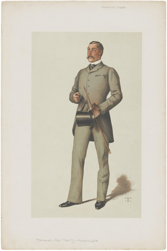 Ralph Vivian, by Théobald Chartran ('T'), published 1883 - NPG D6768 - © National Portrait Gallery, London