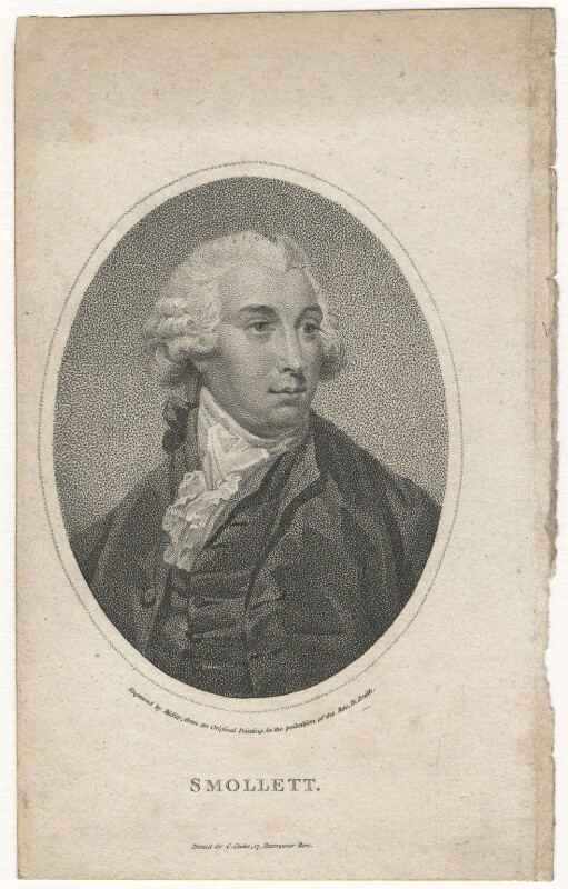 Tobias George Smollett, by William Ridley, published by  Charles Cooke, 1790s-1800s - NPG D6800 - © National Portrait Gallery, London