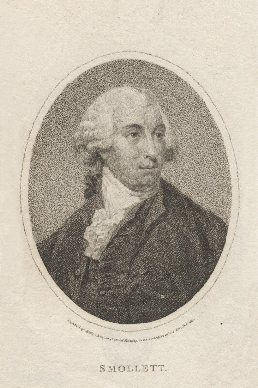 Tobias George Smollett, by William Ridley, 1790s-1800s - NPG D6801 - © National Portrait Gallery, London