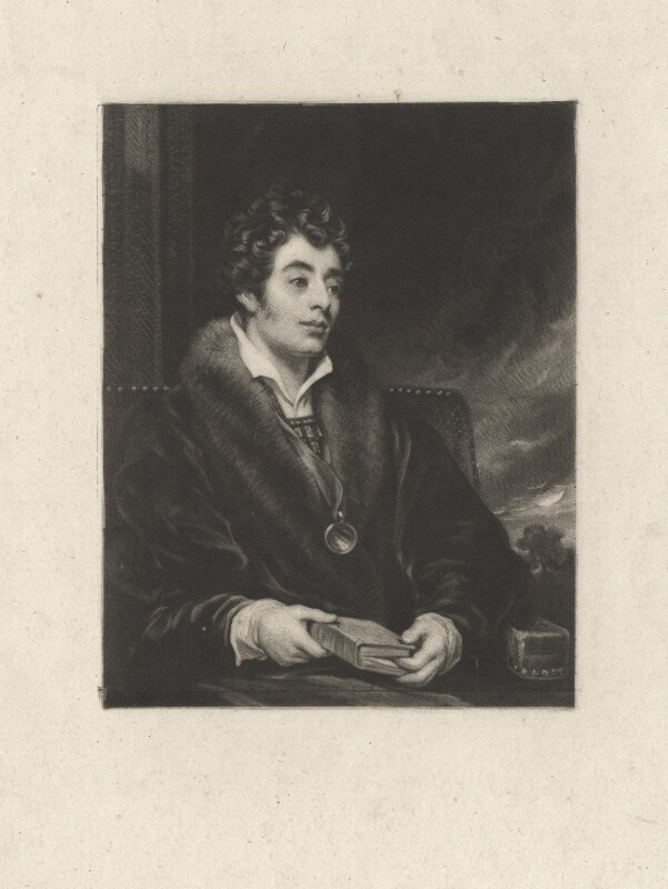 Robert Southey, by Samuel William Reynolds, after  Thomas Phillips, 1823 or before - NPG D6815 - © National Portrait Gallery, London