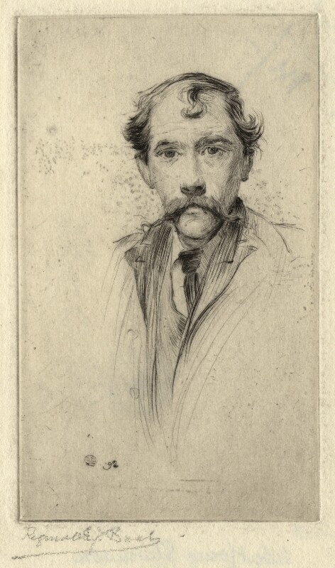 Called Robert Louis Stevenson, by R.E.J. Bush, 1892 - NPG D6867 - © National Portrait Gallery, London