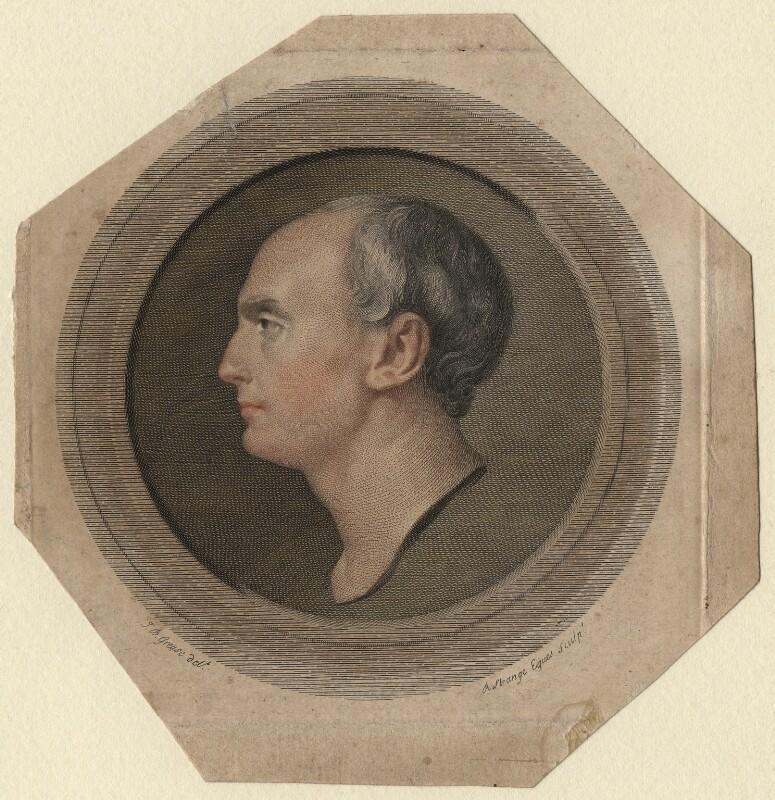 Sir Robert Strange, by Sir Robert Strange, after  Jean-Baptiste Greuze, 1791 - NPG D6876 - © National Portrait Gallery, London