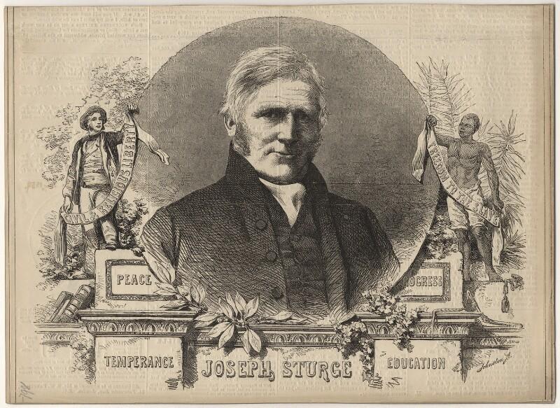 Joseph Sturge, after Unknown artist, published 1859 - NPG D6892 - © National Portrait Gallery, London