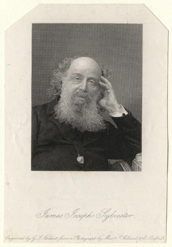 James Joseph Sylvester, by George J. Stodart, after a photograph by  Messrs J. Stilliard & Co, late 19th century - NPG D6911 - © National Portrait Gallery, London