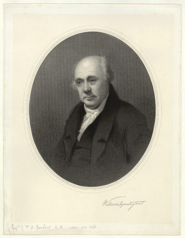 William Symington, by Thomas Oldham Barlow, after  David Octavius Hill,  - NPG D6912 - © National Portrait Gallery, London