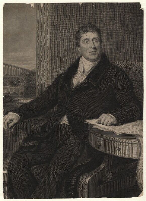 Thomas Telford, by William Raddon, after  Samuel Lane, published 1831 - NPG D6933 - © National Portrait Gallery, London