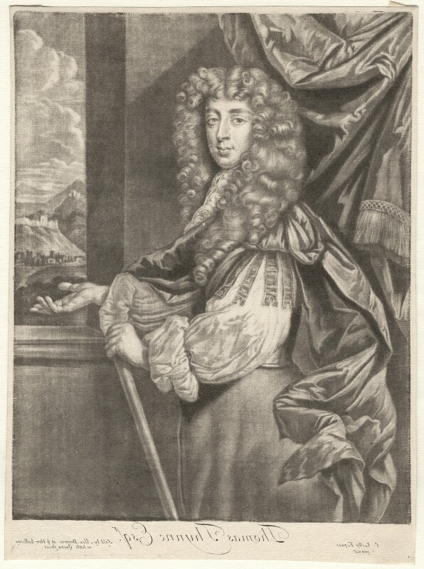 Thomas Thynne, published by Alexander Browne, after  Sir Peter Lely, circa 1684 - NPG D6956 - © National Portrait Gallery, London