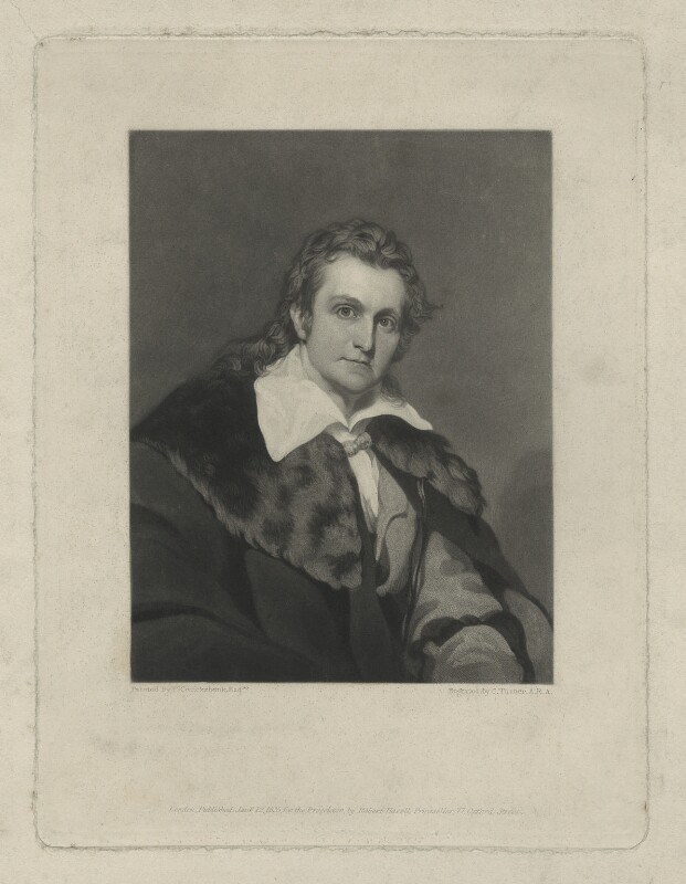 John James Audubon, by Charles Turner, after  Francis Cruikshank, published 1835 - NPG D7 - © National Portrait Gallery, London