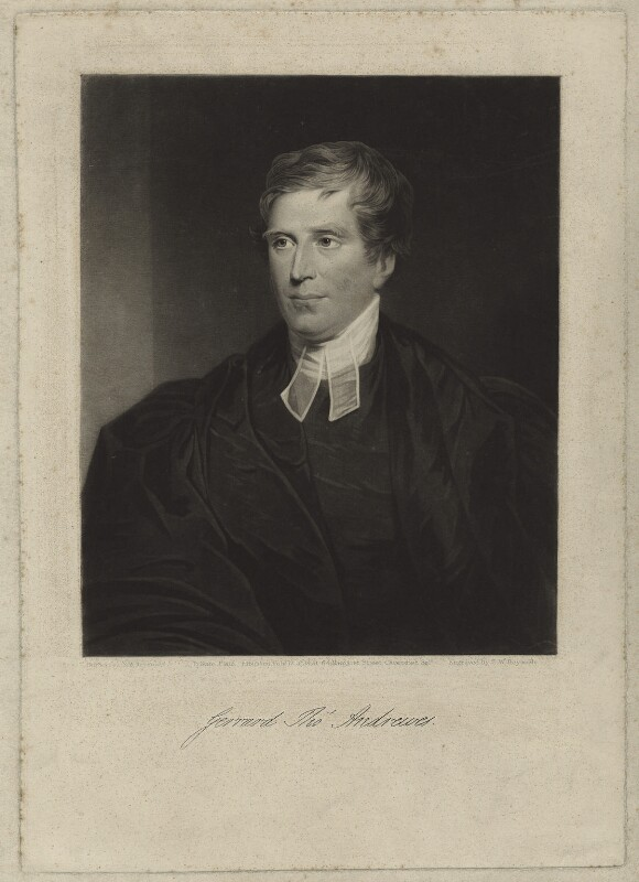 Gerrard Thomas Andrewes, by Samuel William Reynolds Jr, published 17 February 1834 - NPG D7018 - © National Portrait Gallery, London