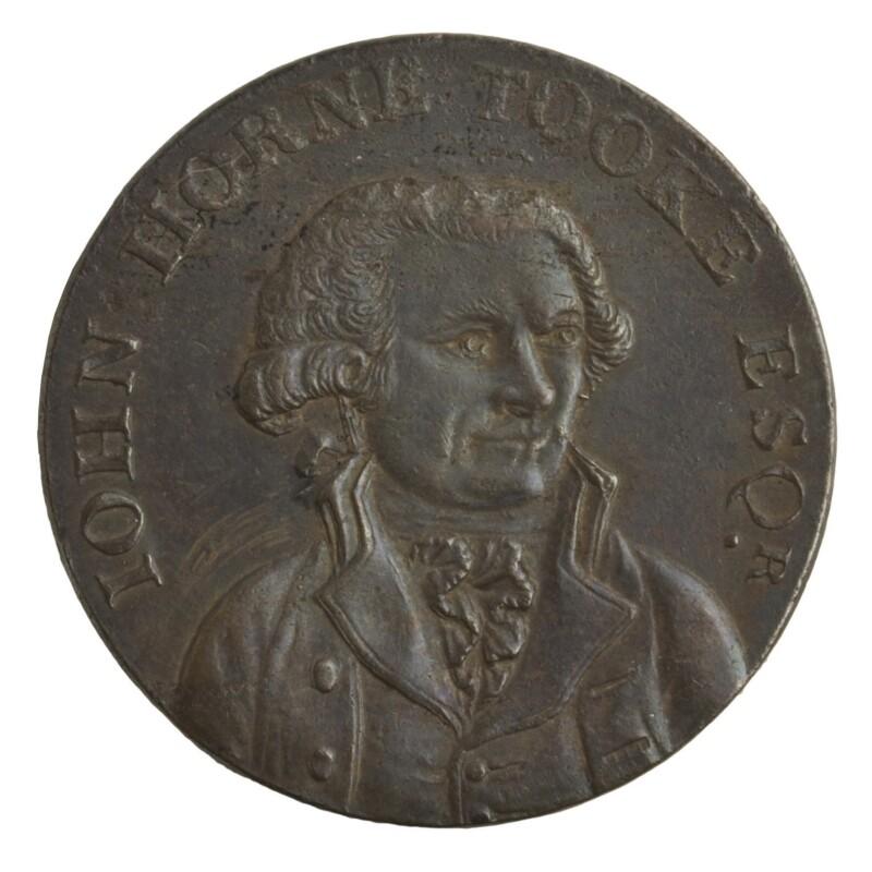 John Horne Tooke, by Unknown artist, 1794 - NPG D7051 - © National Portrait Gallery, London