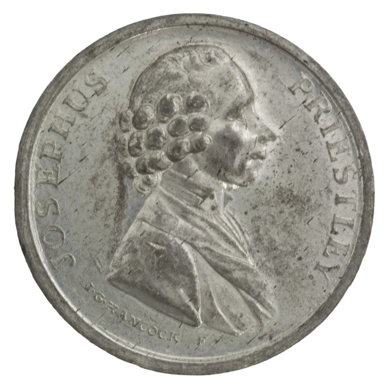 Joseph Priestley, by John Gregory Hancock, 1783 - NPG D7057 - © National Portrait Gallery, London